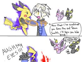 Dark Pokemon Training by raizy