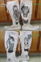 Vocaloid Shoes by RollingGirl3