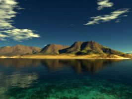 Terragen - Paradise by duris