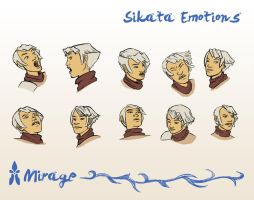 Sikata Expressions by spiralstatic13