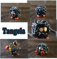 Weekly Sculpture: Tangela by ClayPita