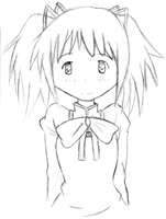 Madoka Sketch by Nimmeh-The-Mouse