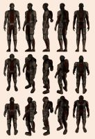 Mass Effect 2, Batarian - Model Reference. by Troodon80