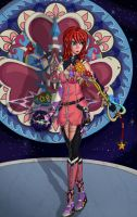 Kingdom heart's: Keyblade knight kairi by BeigePaladin