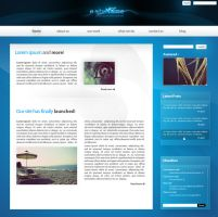 Web Interface 01 by O-nay