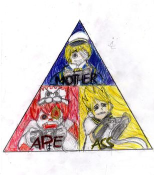Fukase, Len and Oliver go All the Way by Scusa-chan42