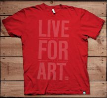 Live For Art by bionikdesign
