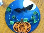 Halloween Quilling by nightingales-rose