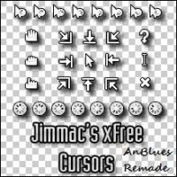 Jimmac's xFree Cursors by AnBlues