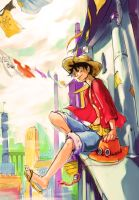 Luffy by NowisSoloTime