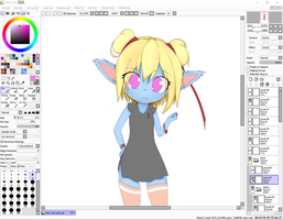 LoL Poppy  - WIP #3 by AB-Anarchy