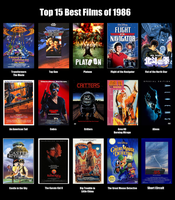 Top 15 Best Films of 1986 by MDTartist83