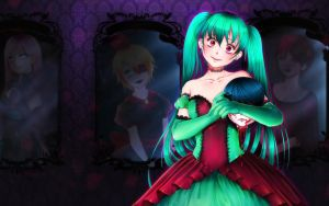 Vocaloid: Bloody Ball of Turquoise Queen by Lio-Sun