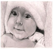 Baby with Towel by kgoddess87