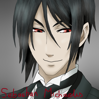 Sebastian Michaelis - coloured in by FightStorm