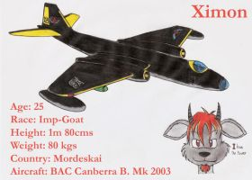 Ximon and his Canberra by DingoPatagonico