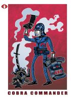 G. I. Joe Fan Art: Cobra Commander Classic by ehudsbloodysword