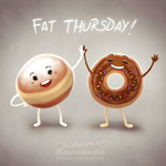 Fat Thursday by daekazu