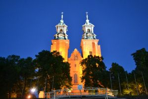 Cathedral in Gniezno, Poland (2) by KlaczArabska
