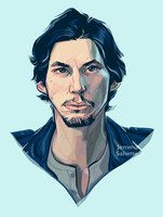 Adam Driver by oxboxer