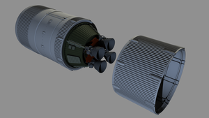 ''Direct Launcher'' inspired Second Stage by LandeTLS