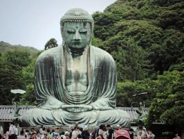 Buddha Statue by alexisislame