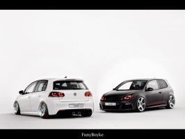 VW Golf mk6 R by funyboyke