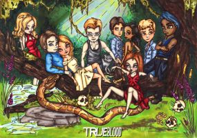True Blood by JadeDragonne