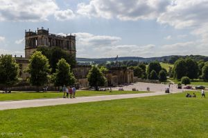 Arriving at Chatsworth House by LordMajestros