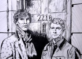 Sherlock and Watson by MP-R
