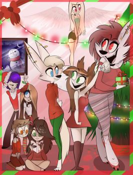 Christmas Party by shadow-uv-a-dream