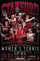 stanford womens tennis by Satansgoalie