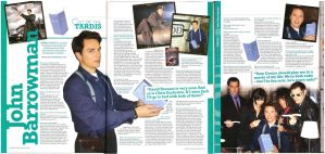 John Barrowman Interview by WillowWhiskers