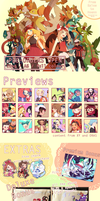 [From Kalos to Hoenn] Pokemon Fan book Pre-order by redricewine