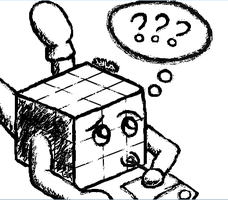 Drawing Rubiks by somechick73