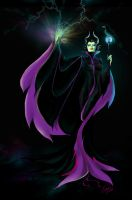 Maleficent by candybg