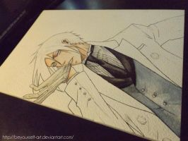 Sebastian - Black butler wip by BeYourself-art