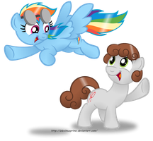 Commission:  Hey Dashie! by AleximusPrime