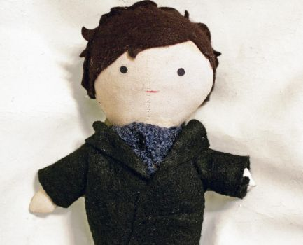 Sherlock Doll by stickfigures123