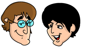 John and Paul by TragicalMysteryWar