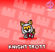 Knight Trott by JinxBunny