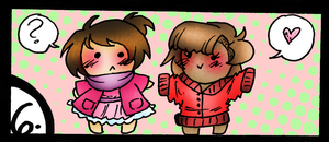 OTP Day 6: Wearing each others' clothes by AskHeffer