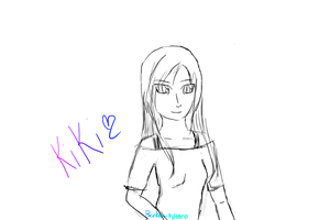 Kiki's first tablet drawing by PakaFaceInSpace