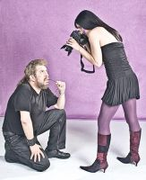 Model shoots photographer by nocturno