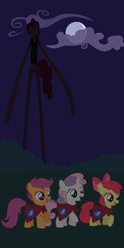 Slender Pony by adcoon