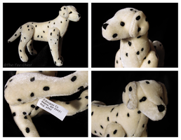 Douglas Cuddle Toys - Jointed Mini Dalmatian Plush by The-Toy-Chest