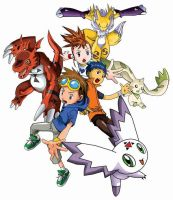 digimon tamers fanart by tridenth