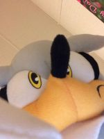 My Silver plush close up. by sonicexpertfan10