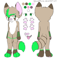Jagger Reference Sheet (New) by WolfTwine