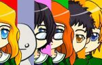 Group Shot of the Six Chosen Children by Sasami87